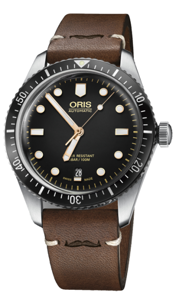 ORIS DIVERS 733 7707 40 84 LS MOVEMBER EDITION